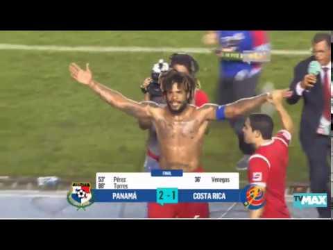 Celebracion de Panama al Mundial  por TVMAX Parte 1