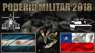 Argentina vs Chile   Comparación de Poder Militar   2018   HD