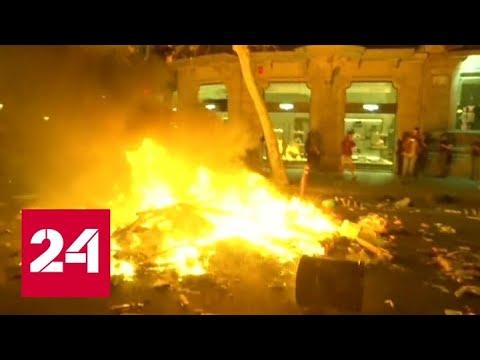 В Каталонии пройдет всеобщая забастовка - Россия 24