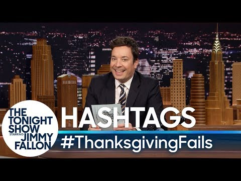Hashtags: #ThanksgivingFails