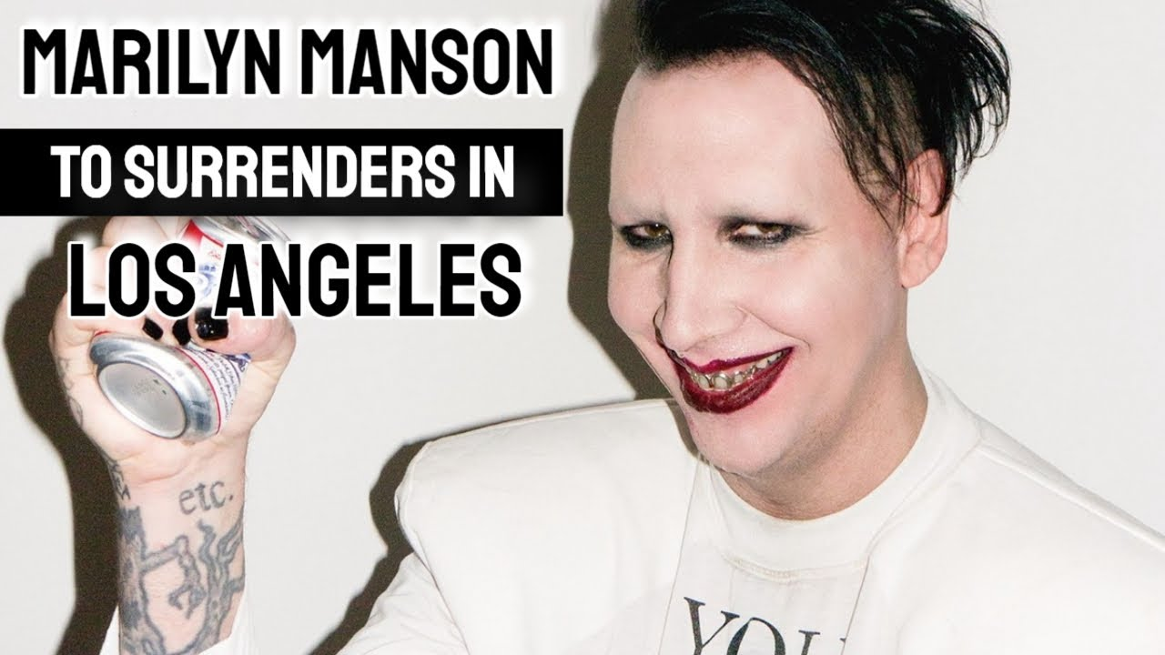 Marilyn Manson agrees to surrender to police on New Hampshire ...