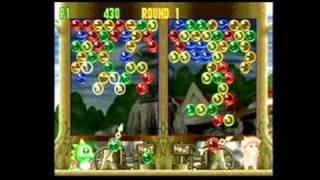 Bust-A-Move 4 Dreamcast Gameplay