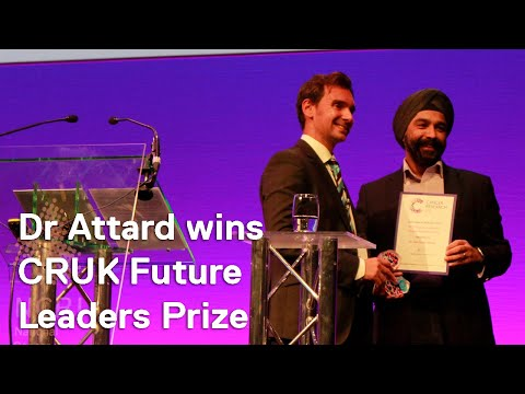 NCRI 2017: Dr Gerhardt Attard reacts to winning Cancer Research UK Future Leaders Prize