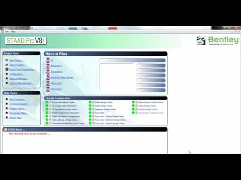 Shear Wall design and analysis using IS456 in Staad Pro V8i - YouTube
