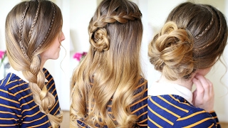 Easy Everyday Hairstyles | Braided Hairstyles | Braidsandstyles12