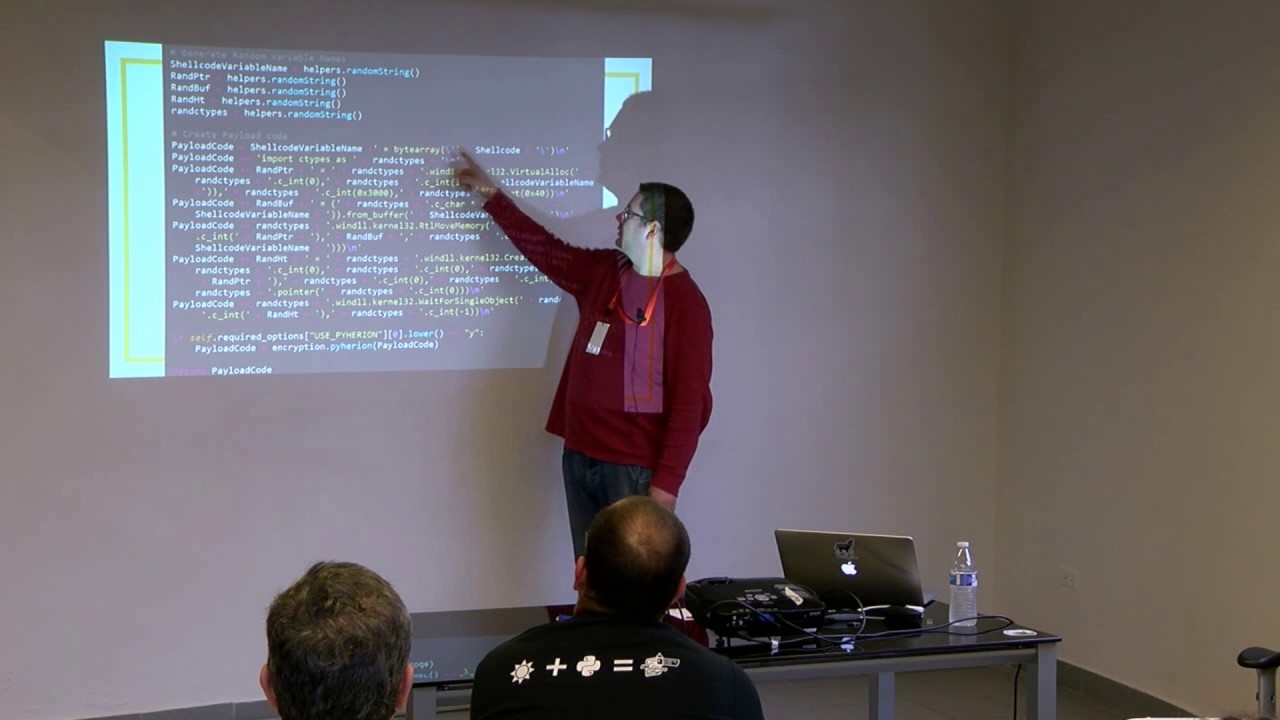 Image from Bringing Down The House - How One Python Script Ruled Over Antivirus - Chris Truncer