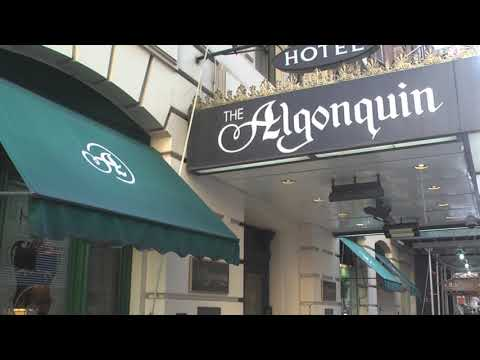 Algonquin Hotel, New York - Home Of The