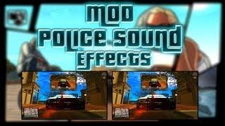 GTA SA Mod Police Sound Effects