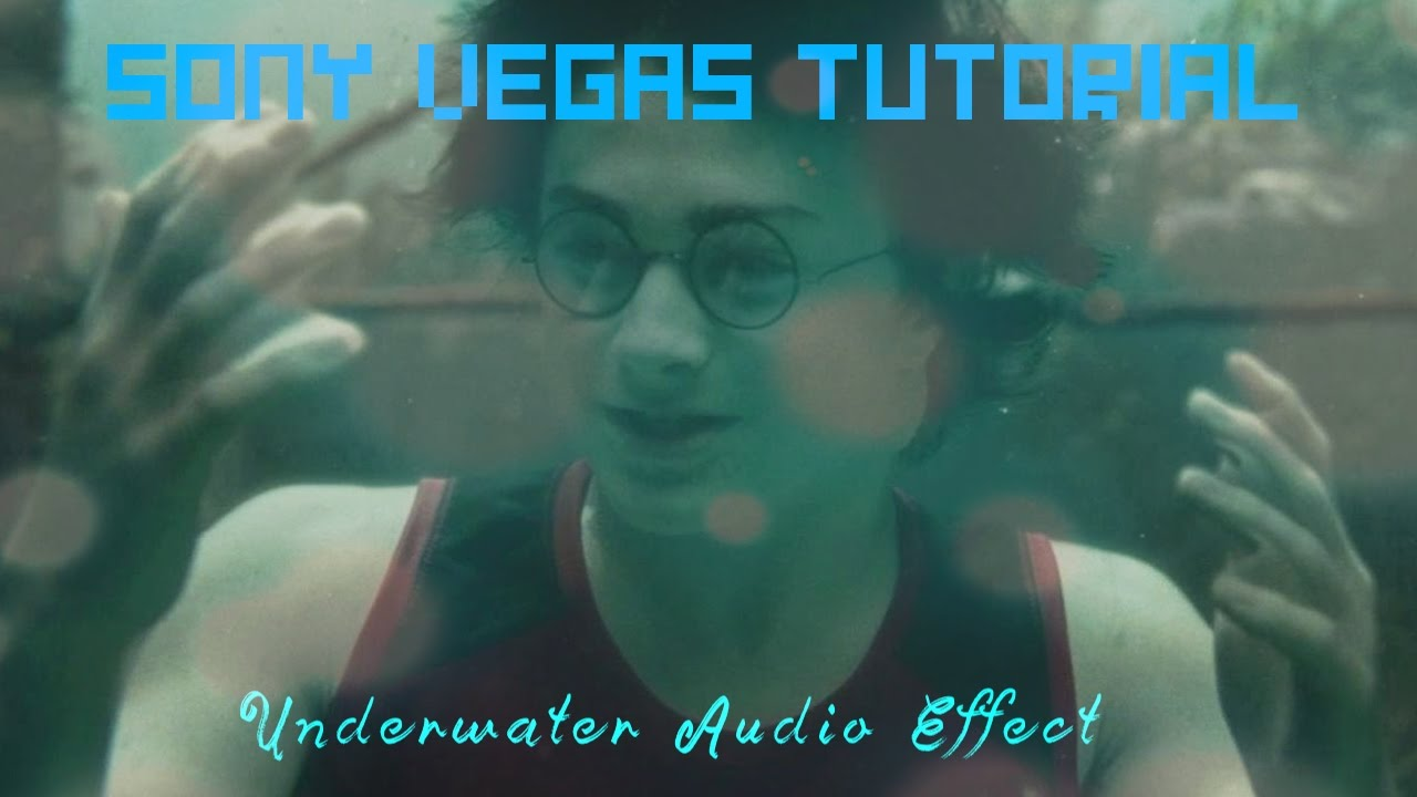 how to add audio effects in sony vegas