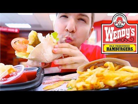 Wendy's • MUKBANG