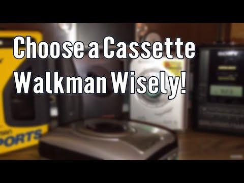 Classic Tech: Choosing a Cassette Walkman