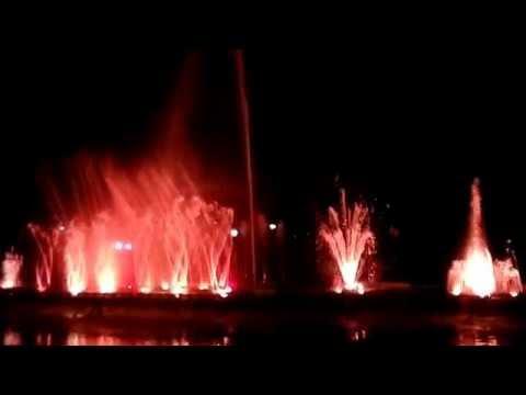 Water Show at jawahar Circle, JAIPUR INDIA PART 1