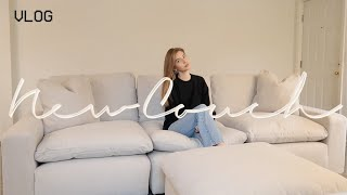 NEW COUCH, VEGAN BREAKFAST SMOOTHIE, TARGET SHOPPING! VLOG