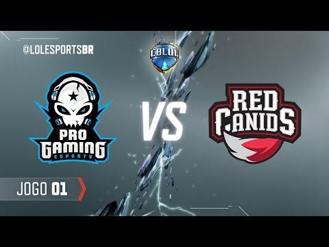 CBLoL 2018: ProGaming x Red Canids (Jogo 1) | Fase de Pontos - 2ª Etapa