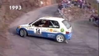 Paolo Andreucci e la Peugeot 106 Rallye (ITA)