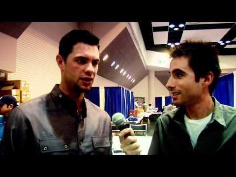 Brandon Belt interview at GTSM in Santa Clara, CA