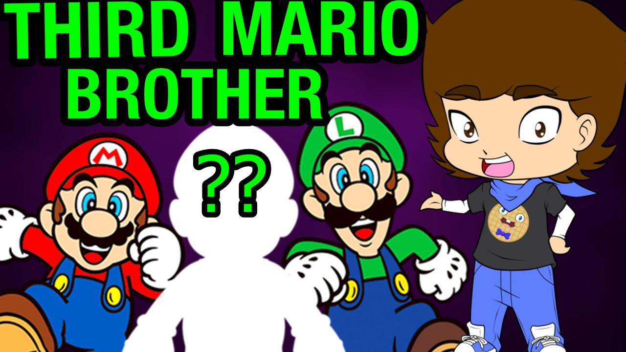 Download Mario and Luigi's SECRET Brother? (Super Mario Bros. Theory) - ConnerTheWaffle