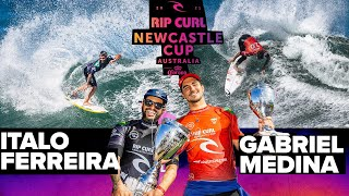 Gabriel Medina vs. Italo Ferreira! FINAL HEAT REPLAY Rip Curl Newcastle Cup presented by Corona