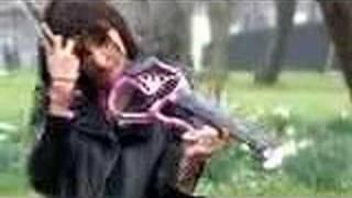 Oh No. Jonny Kydd & Anna-Phoebe on violin