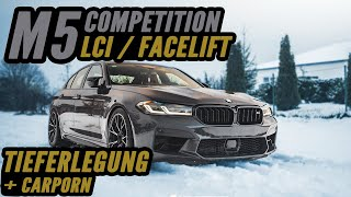 Neuer BMW M5 Competition LCI Facelift | Tieferlegung & Spurplatten | CarPorn - Aulitzky Tuning
