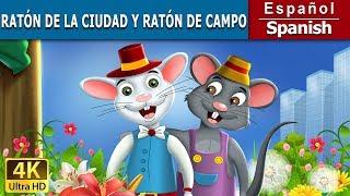 El Raton de Campo y Raton de Ciudad - Cuentos para dormir - 4K UHD - Cuentos De Hadas Españoles