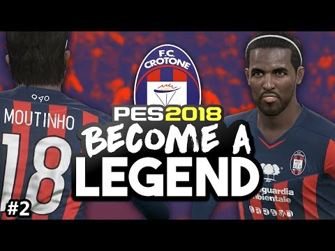 "BECOME A LEGEND! #2 |PES 2018! | ""THE FORTRESS OF CROTONE?!"""