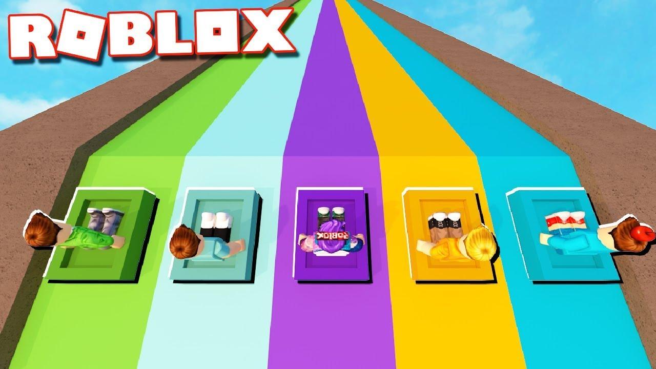 Roblox Adventures - SLIDE BOX RACING TOURNAMENT! (Ultimate Box Racing)