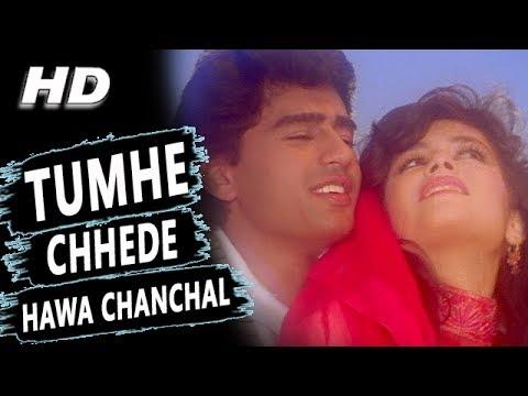 Tumhe Chhede Hawa Chanchal | Kumar Sanu, Alka Yagnik | Salaami 1994 Songs | Ayub Khan, Roshini