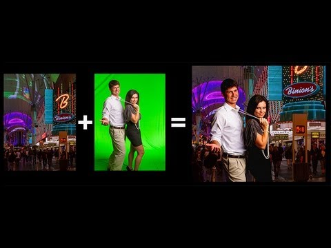 Webinar - Lighting for Composite Portraits - Green Screen Your Subject in Any Environment!