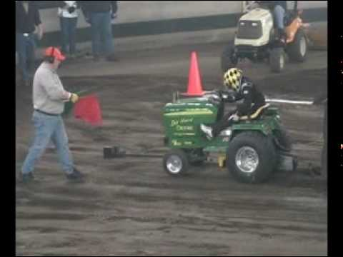 2010 Spring Shootout Sport Stock garden tractor pull