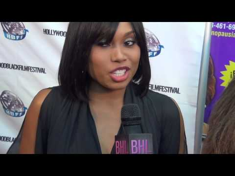 BHL interview with Y&R actress Angel Conwell at HBFF (Hollywood Black Film Festival)