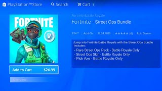 FORTNITE NEW STREET OPS BUNDLE! HOW TO GET FREE STREET OPS IN FORTNITE! FORTNITE SKIN BUNDLE PACK