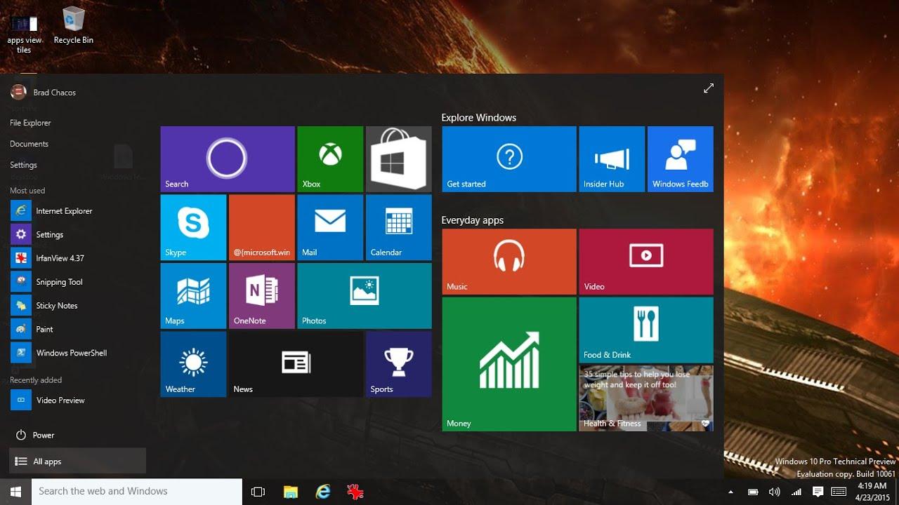 Windows 10 afficher ou masquer les ic nes communes sur le for Bureau 3d windows 10