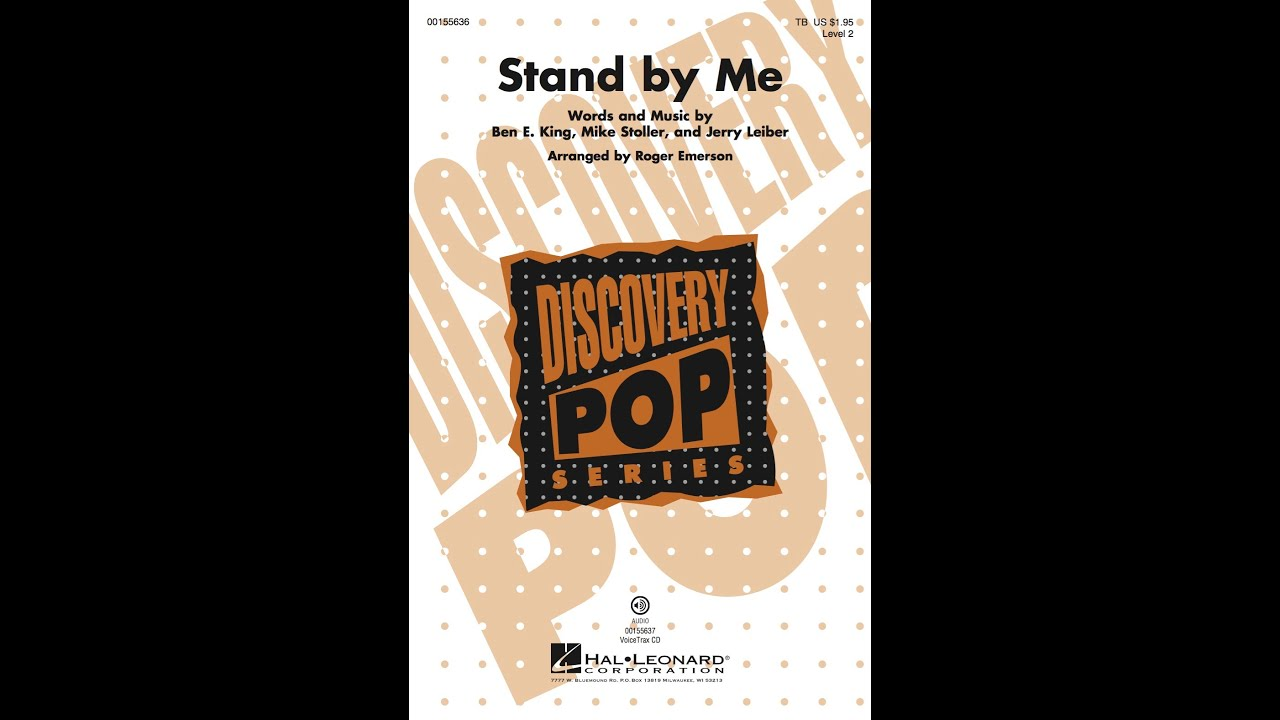 Stand By Me Sheet Music By Ben E  King - Sheet Music Plus