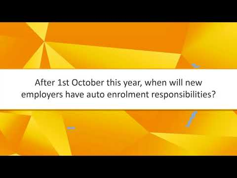 New Employers and their Auto Enrolment Obligations