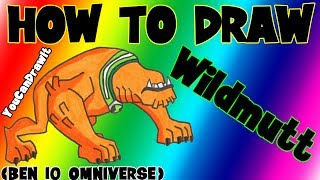 How To Draw Wildmutt from Ben 10 Omniverse ✎ YouCanDrawIt ツ 1080p HD