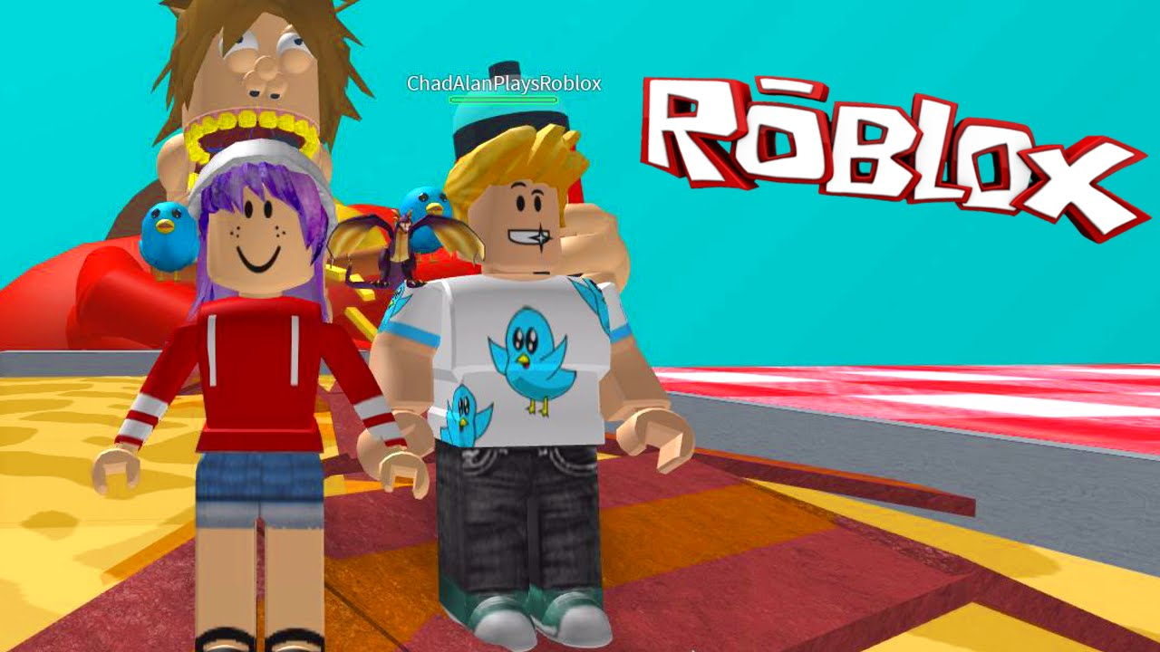 Roblox Escape The Giant Fat Guy Obby Radiojh Games Gamer Chad Youtube