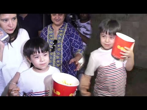 Matin Rey Tangu's CUTE Moments At Tubelight Movie Special Screening
