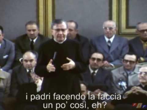 La confessione: San Josemaria Escriva incoraggia ad accostarsi al sacramento della Penitenza