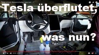 Tesla Schrott, Wasserschaden...was nun ....?  Tesla zerlegt. Teil 1