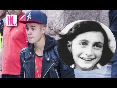 Justin Bieber Anne Frank House Comment Sparks Outrage