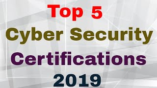 Highest Paying IT Security Certification
