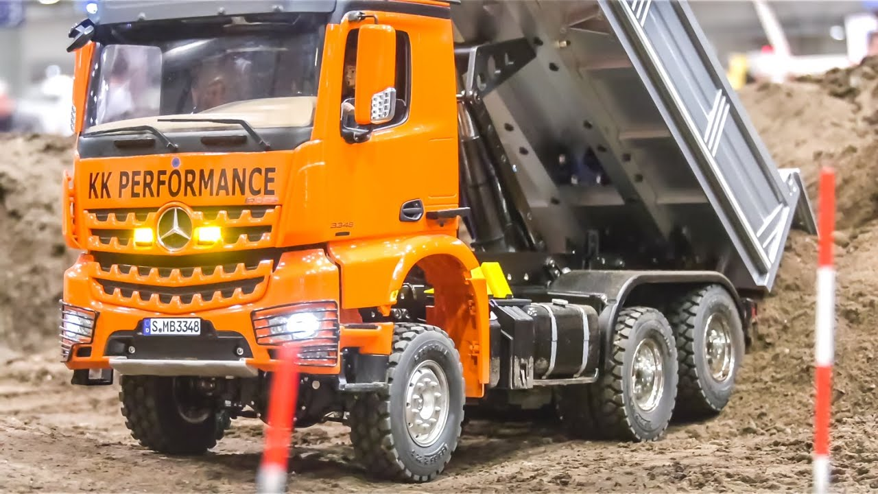 STUNNING MODIFIED RC TRUCKS IN 1/14 SCALE! TAMIYA SCANIA, KNIGHT HAULER AND MORE!