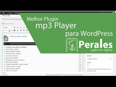 Melhor Plugin de mp3 player para WordPress: mp3-jPlayer