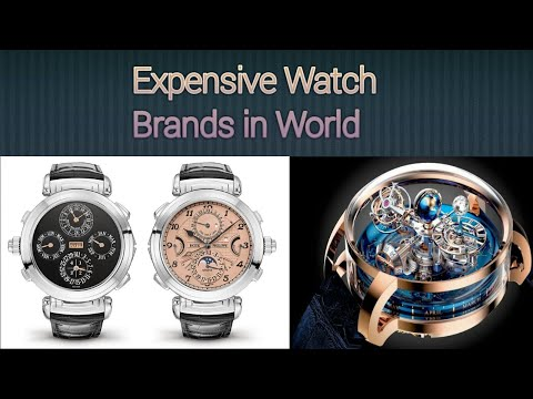 Top 10 Most Expensive Watch Brands In World 2020
