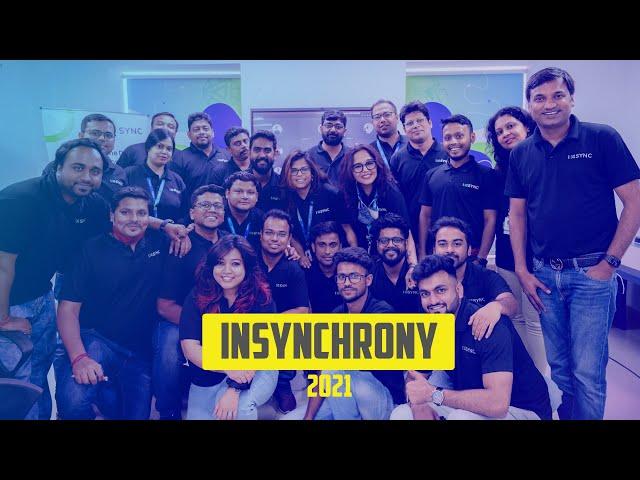 INSYNCHRONY 2021 | Annual Dashboard | Share, Showcase and Sync-up | INSYNC