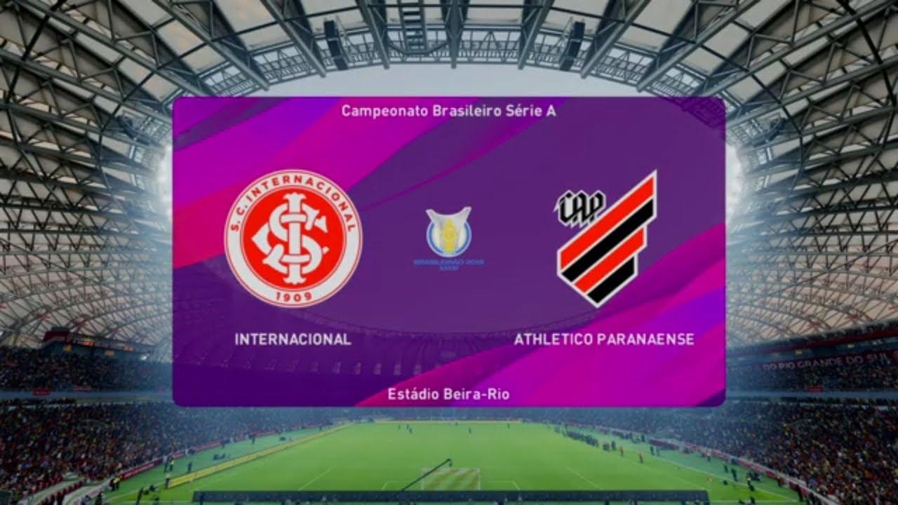 Internacional Vs Ath Parenense Pes 20 Copa Brasil Live Gameplay Youtube