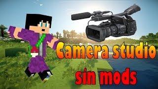 MCedit Tutorial Avanzado [Filtros] Ep10: Camera Studio sin mods | Minecraft