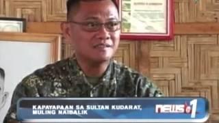 News@1: Kapayapaan sa Sultan Kudarat, muling naibalik || October 22, 2013