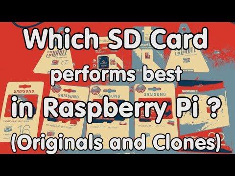 #141 SD Card Test with Raspberry Pi 3 (Clones and Originals)